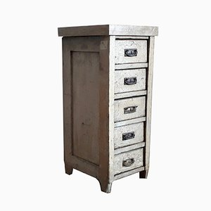 Small Antique Chest of 5 Drawers