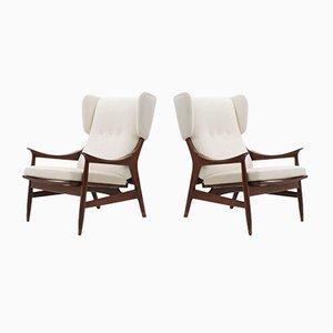 Italienische Mid-Century Sessel von Framar, 2er Set