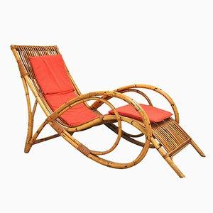 Chaise Lounge italiana Mid-Century