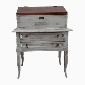 Antique White Secretaire