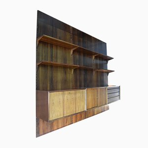 Dänisches Mid-Century Regalsystem aus Palisander von Poul Cadovius für Cado, 1960er