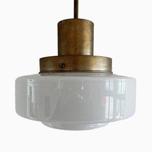 Lampe à Suspension Giso 46 Art Déco de Gispen, Pays-Bas, 1920s