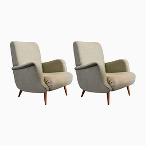 806 Armchairs by Carlo de Carli for Cassina, 1955, Set of 2