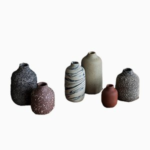 Small VIIE Vases by Studio Berg, 2018, Set of 6