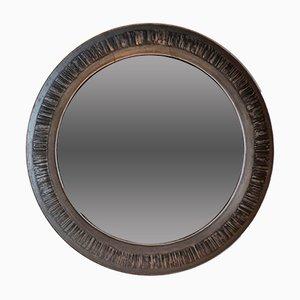 Specchio rotondo di Rizzato, anni '70