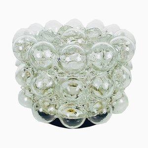 Glasblasen Deckenlampe von Helena Tynell für Limburg, 1960er