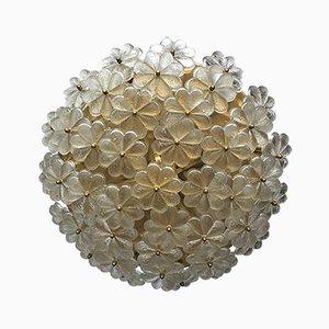 Große Deckenlampe aus Muranoglas von E. Palme, 1960er