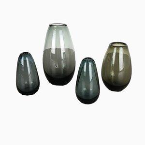 Vases Turmalin Vintage par Wilhelm Wagenfeld pour WMF, 1960s, Set de 4