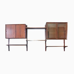 Scandinavian Wall Unit by Poul Cadovius for Cado, 1970s