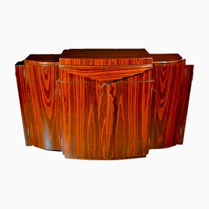 French Art Deco Rosewood Sideboard or Bar, 1930s
