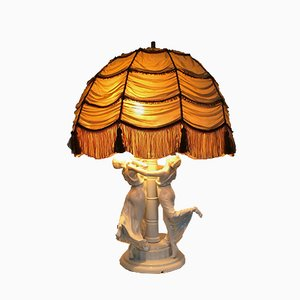 Art Nouveau Festreigen Table Lamp by K. Himmelstoss for Rosenthal, 1916