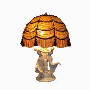 Lampada da tavolo Art Nouveau Festreigen di K. Himmelstoss per Rosenthal, 1916