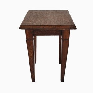 Vintage Wooden Stool or Plant Stand, 1960s