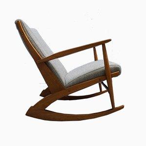 Rocking Chair 97 en Teck par Søren Georg Jensen pour Tønder Møbel, Danemark, 1958