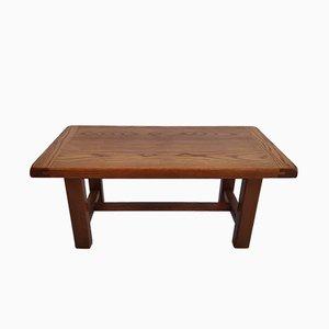 Mesa de centro minimalista de madera, años 60