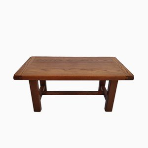 Minimalist Wooden Coffee Table, 1960s