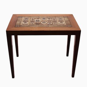 Tavolino in palissandro di Severin Hansen per Haslev Møbelsnedkeri, anni '60
