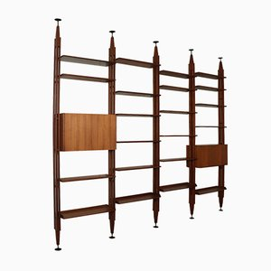 Floor-to-Ceiling Bookcase by Franco Albini, 1960s