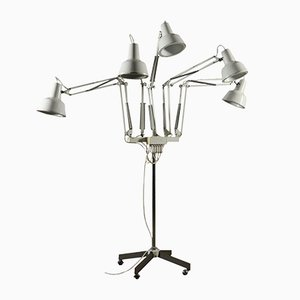 Italian Metal and Aluminium Floor Lamp, 1970s