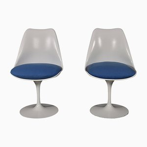 Sillas Tulip de Eero Saarinen para Knoll, años 50. Juego de 2
