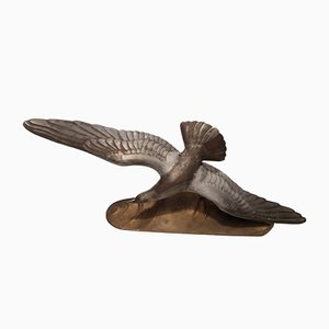 Bronze Seagull by Louis Albert Carvin, 1930s