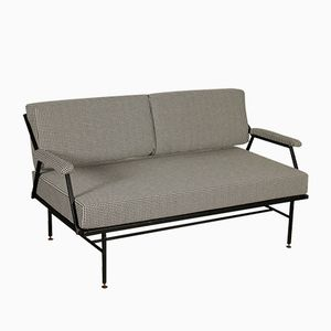 Italian Metal and Foam Sofa, 1960s