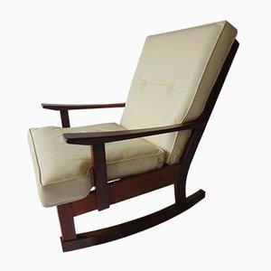Rocking Chair en Teck, 1970s