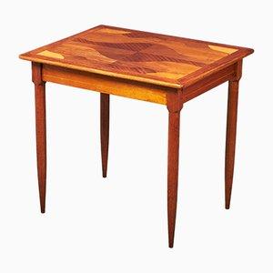 Dänischer Spieltisch aus Teak mit Stauram, 1960er