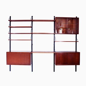 Adjustable Royal System Shelving Unit by Poul Cadovius for Cado, 1960s