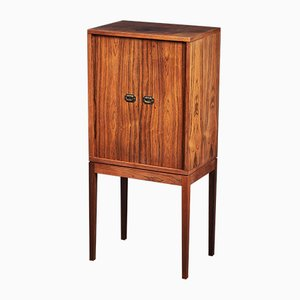 Danish Rosewood Pipe Cabinet by Henning Korch for Silkeborg Møbelfabrik, 1960s