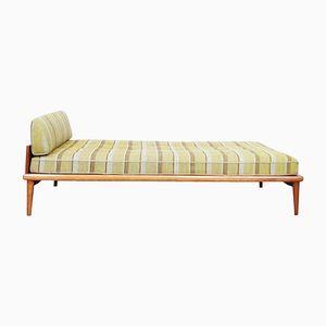 Dänisches Tagesbett mit Gestell aus Teak, 1960er