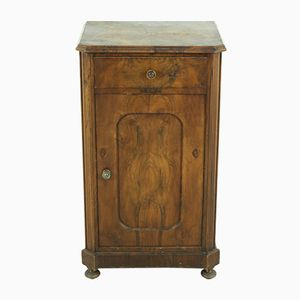 Table de Chevet Antique en Noyer, 1880s