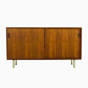 Small Teak Sideboard by Herbert Hirche for Holzäpfel, 1950s