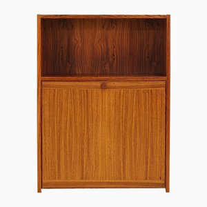 Large Scandinavian Rosewood Bookcase