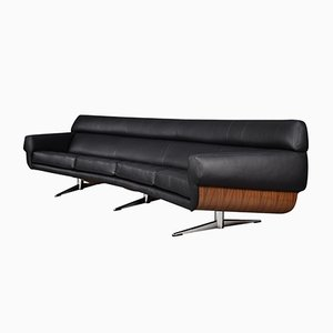 Curved Sofa by Martin Stoll for Giroflex, 1960s