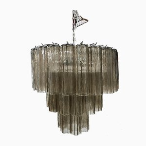 Lámpara de araña Tronchi Sputnik de cristal de Murano de Italian light design