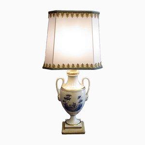 Antike Tischlampe von Richard Ginori