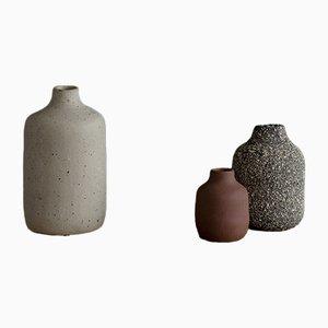 Kleine VIIE Vasen von Studio Berg, 2018, 3er Set