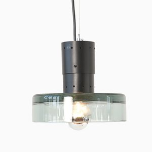 Murano Pendant Lamp by Flavio Poli for Seguso, 1960s