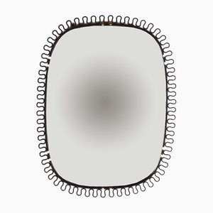 Wall Mirror with Brass Edges by Josef Frank, 1950s