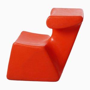 Zocker Orange Children's Chair by Luigi Colani for Top System Burkhard Lübke, 1970s