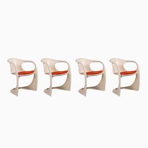 Model 2007 Plastic Armchairs by Alexander Begge for Casala, 1970s, Set of 4
