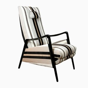 Butaca reclinable italiana Mid-Century