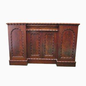 Viktorianisches Sideboard aus massivem Mahagoni