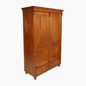 Antique Neoclassic Wooden Cabinet, 1850s