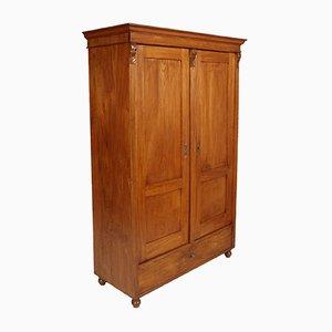 Mueble neoclásico antiguo de madera, década de 1850