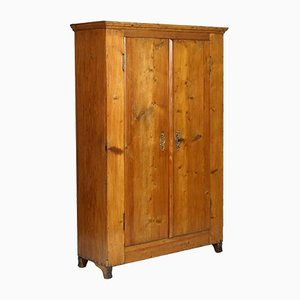 19th-Century Austrian Cupboard Wardrobe