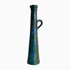 Vaso in ceramica di Bernard Buffat per La grange aux potiers, anni '60