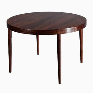 Mid-Century Danish Extending Round Table in Brazilian Rosewood by Niels O. Møller for Gudme Mobelfabrik
