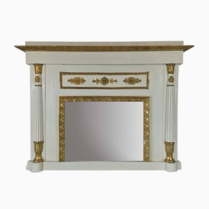 Neoclassical Fireplace Mirror, 1800s